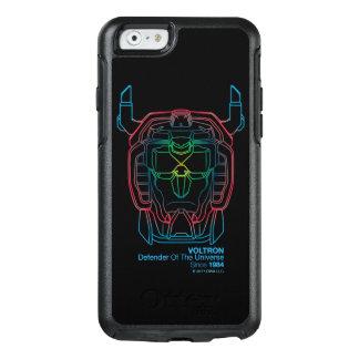 Voltron | Pilot Colors Gradient Head Outline OtterBox iPhone 6/6s Case