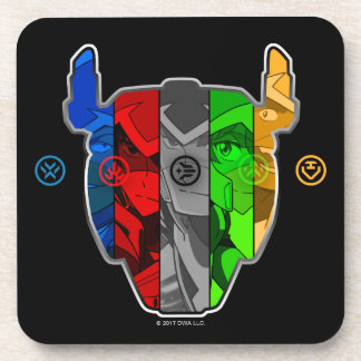 Voltron | Pilots In Voltron Head Coasters