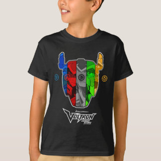 Voltron | Pilots In Voltron Head T-Shirt