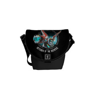 Voltron | Red Lion Plasma Beam Courier Bags