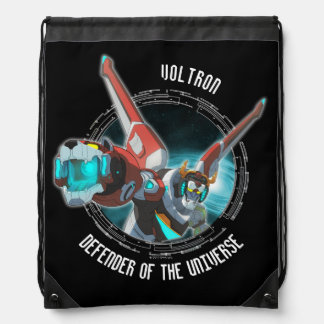 Voltron | Red Lion Plasma Beam Drawstring Bag