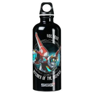Voltron | Red Lion Plasma Beam Water Bottle