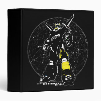 Voltron | Silhouette Over Map Binders