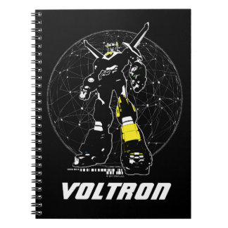 Voltron | Silhouette Over Map Notebooks
