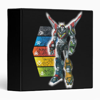 Voltron | Voltron And Pilots Graphic Binder