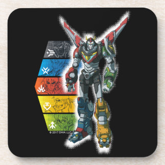 Voltron | Voltron And Pilots Graphic Coasters
