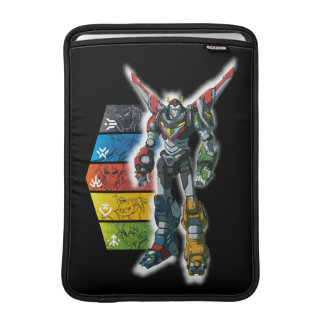 Voltron | Voltron And Pilots Graphic Sleeve For MacBook Air
