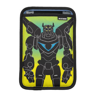 Voltron | Voltron Black Silhouette iPad Mini Sleeve