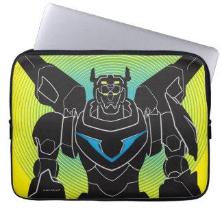 Voltron | Voltron Black Silhouette Laptop Sleeve
