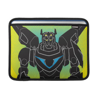 Voltron | Voltron Black Silhouette MacBook Sleeve