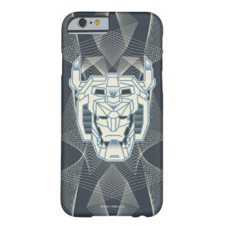 Voltron | Voltron Head Blue and White Outline Barely There iPhone 6 Case