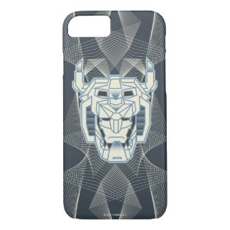 Voltron | Voltron Head Blue and White Outline iPhone 7 Case