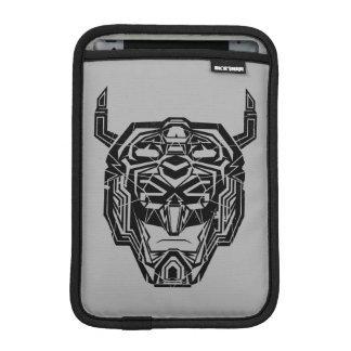 Voltron | Voltron Head Fractured Outline iPad Mini Sleeve