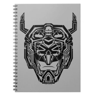 Voltron | Voltron Head Fractured Outline Notebooks