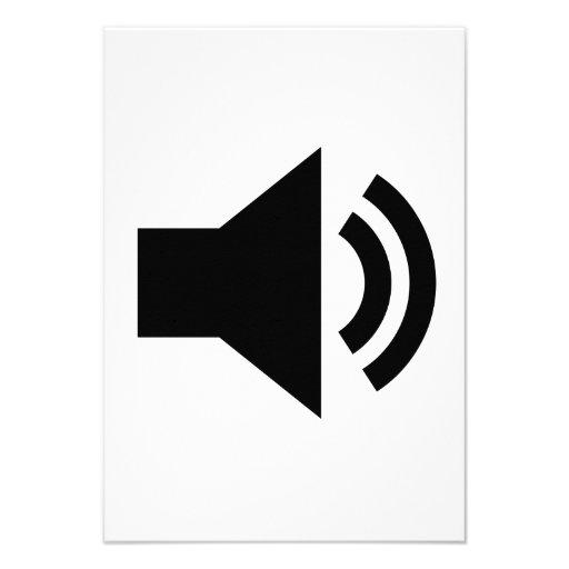 Volume Icon Custom Invite