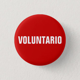 Voluntario Volunteer in Spanish button