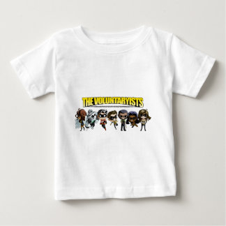Voluntaryist Comic - Chibi Characters Baby T-Shirt