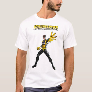 Voluntaryist Comic Tee with Logo