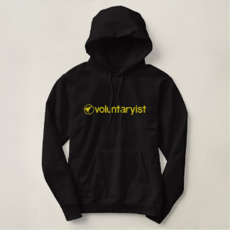 Voluntaryist Embroidered Hoodie