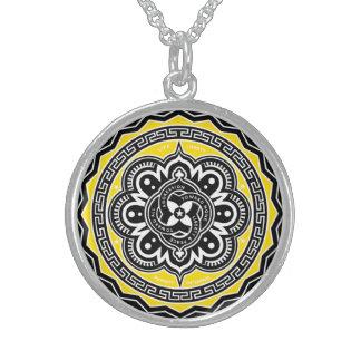 Voluntaryist Seal Round Pendant Necklace
