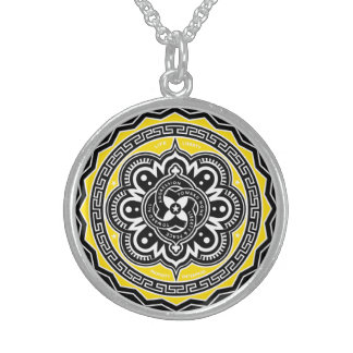 Voluntaryist Seal Sterling Silver Necklace