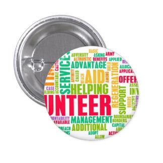 Volunteer 1 Inch Round Button