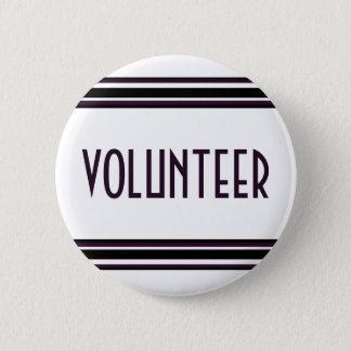 Volunteer 2 Inch Round Button