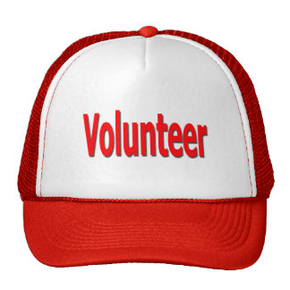 volunteer cap trucker hat