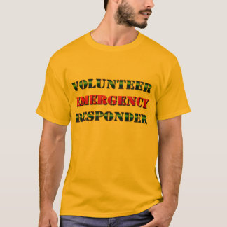 Volunteer Emergency Responder Identification T-Shirt