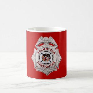 Volunteer Firefighter Custom Mug