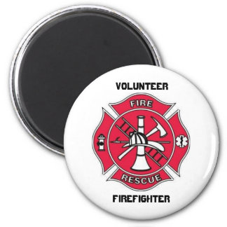 Volunteer  Firefighter Magnet