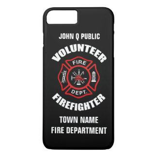 Volunteer Firefighter Name Template iPhone 7 Plus Case