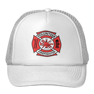 Volunteer Firefighter Trucker Hat