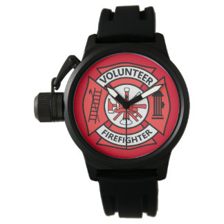 Volunteer Firefighter Wrist Watches
