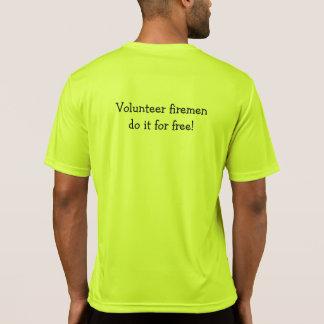Volunteer Firemen Competitor T T-Shirt