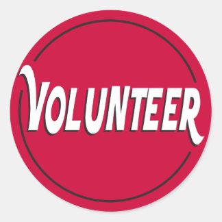 Volunteer Sticker for Events