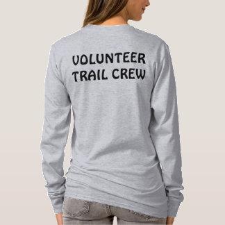 """Volunteer Trail Crew"" shirt with logo"