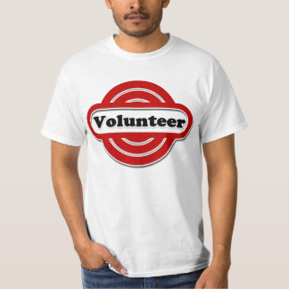 Volunteer Tshirts, Volunteer Buttons and more T-Shirt