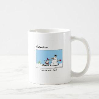 Volunteers always lend a hand! coffee mug