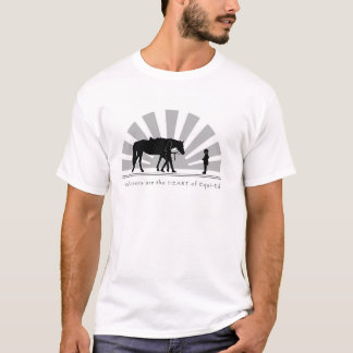 Volunteers are the HEART of Equi-Ed-Shirt T-Shirt