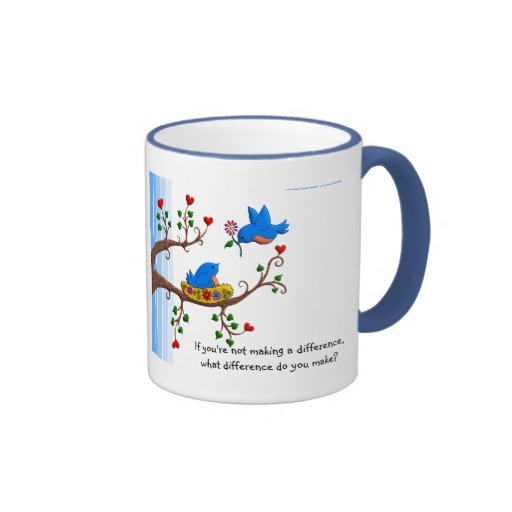 Volunteers Make A Difference Coffee Mugs