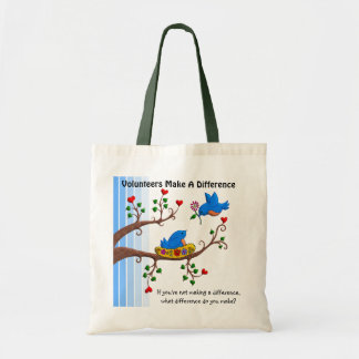 Volunteers Make A Difference Tote Bag