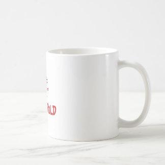Voluntold no border coffee mug