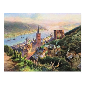 Von Astudin, Bacharach am Rhein Postcard