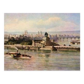 Von Astudin, Koblenz Rhein & Mosel Postcard