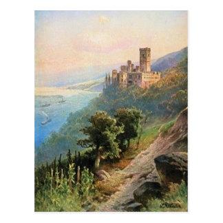 Von Astudin, Schloss Stolzenfels Postcard