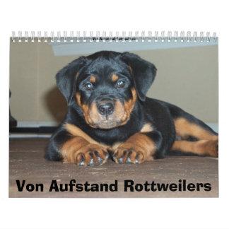 Von Aufstand Rottweilers Wall Calendars