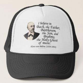 """Von Bülow's """"Holy Trinity"""" Trucker Hat"""