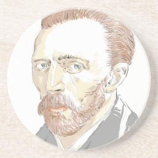 Von Gogh Beverage Coasters