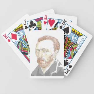 Von Gogh Bicycle Playing Cards